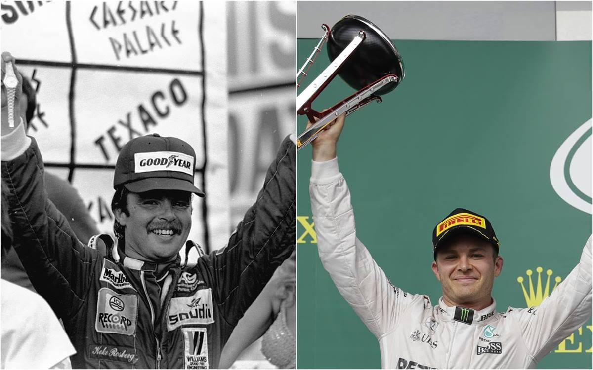 F.1 Keke e Nico Rosberg, il braccio e la mente del circo iridato