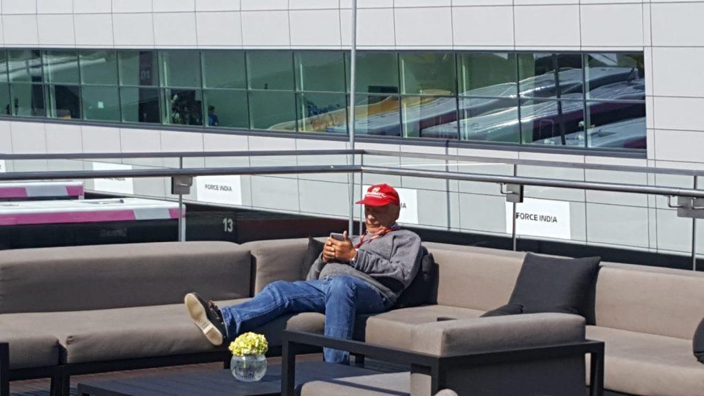 F.1 Niki Lauda un anno dopo, il pilota, il manager, l'amico