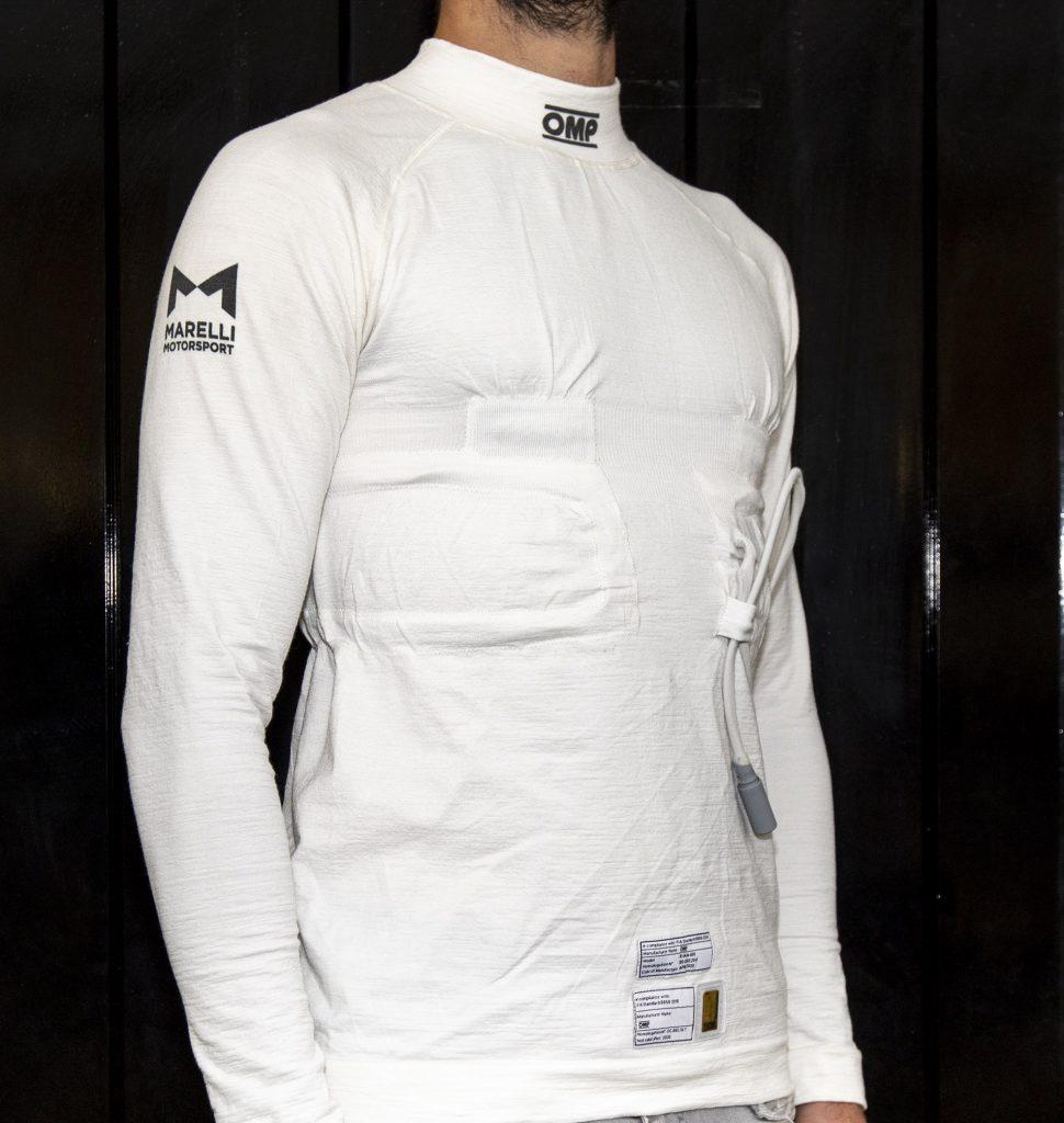 OMP Racing e Marelli presentano VISM, la prima maglia biometrica ...