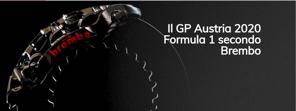 Brembo racconta tutto ciò che c'è da sapere sull'impegno dei sistemi frenanti in vista del GP d'Austria