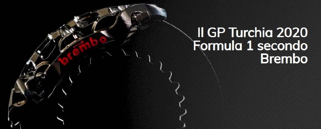 Brembo racconta tutto ciò che c'è da sapere sull'impegno dei sistemi frenanti in vista del GP di Turchia 2020