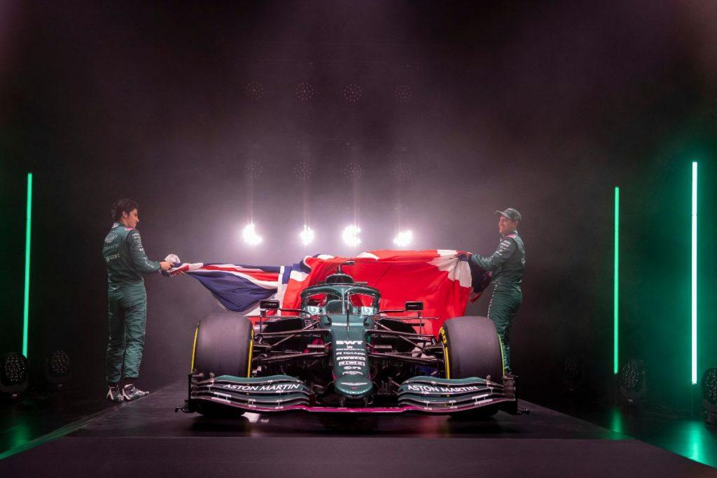 Video della presentazione  Aston Martin Cognizant F1