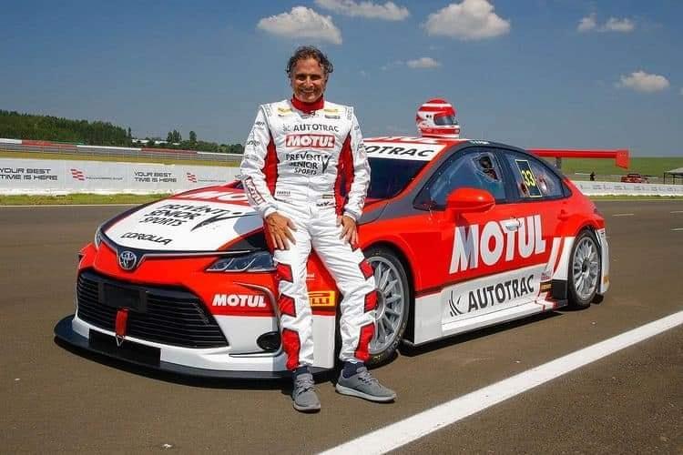 CLAMOROSO Nelson Piquet a 68 anni torna in pista con Toyota nella Stock Car Brasil