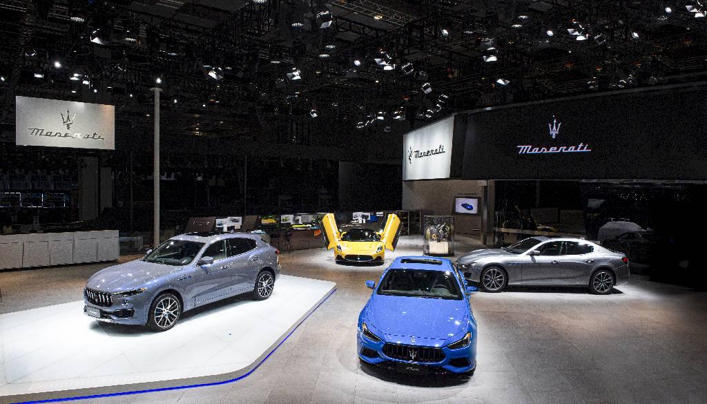 Maserati al Shanghai Auto Show 2021