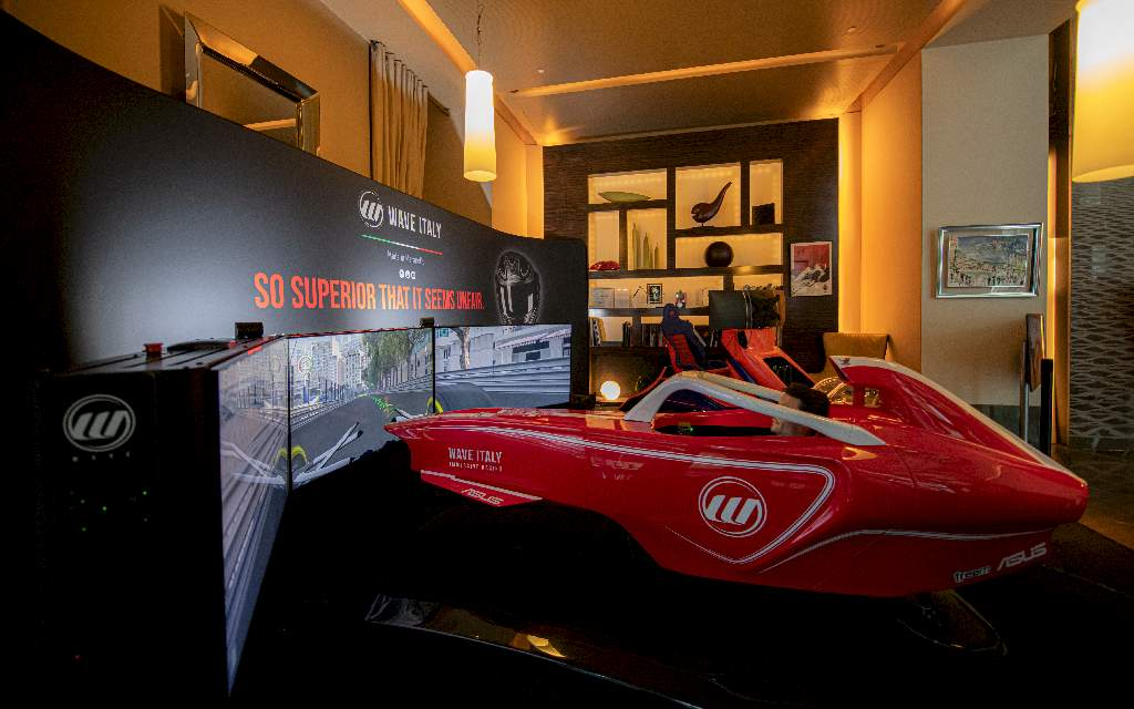 Wave Italy – a Montecarlo i primi eventi in presenza con i simulatori
