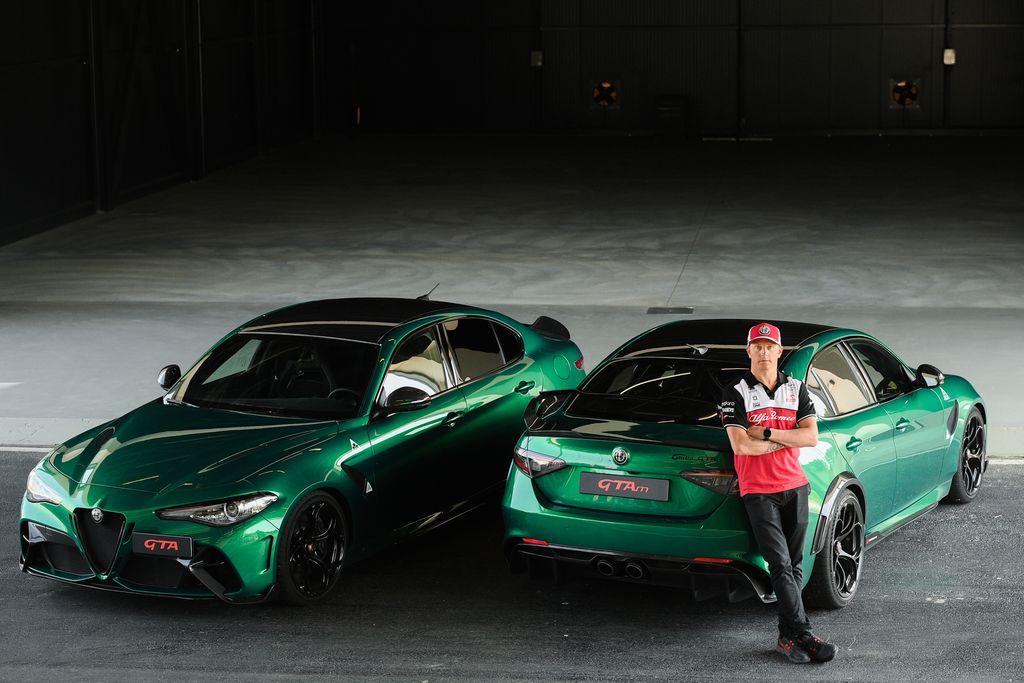 KIMI RAIKKONEN Tutto casa e famiglia, pista e Alfa Romeo