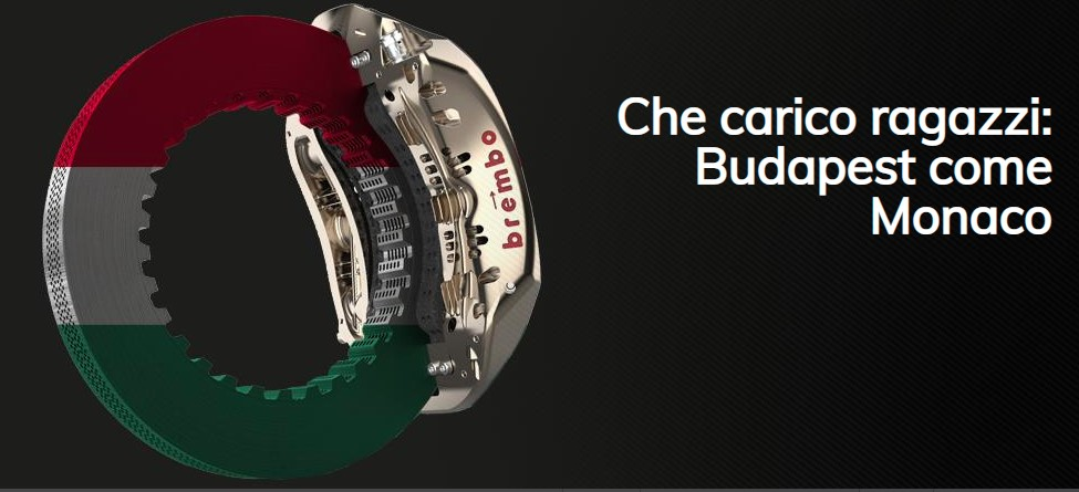 Brembo racconta tutto ciò che c'è da sapere sull'impegno dei sistemi frenanti in vista del GP di Ungheria 2021